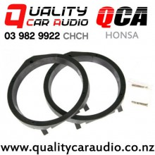 QCA-HONSA Honda Speaker Adapters suit 165mm after market Speakers (Pair) with Easy Finance