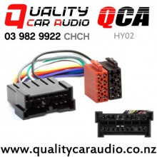 QCA-HY02 Hyundai to ISO Wring Harness from 1999 to 2007 with Easy Finance