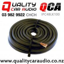 IPC4BLK100-1meter 4 Gauge Power Cable 1 meter - BLACK