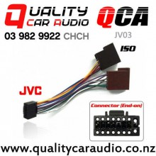 QCA-JV03 JVC (2011 On) to ISO Radio Wiring Adapter with Easy Finance