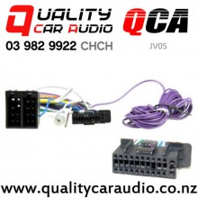 QCA-JV05 Stereo Harness to ISO for JVC A/V Unit 2018 with Easy Payments