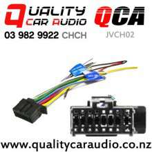 QCA-JVCH02 JVC Harness with Bare End 2017 on with Easy Finance