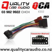 QCA-KE02 Kenwood to ISO Radio Wiring Adapter with Easy Finance