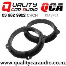 """QCA-KIASP01 6.5"""" Solid Plastic Speaker Spacer for Kia Sportage (pair) with Easy Finance"""