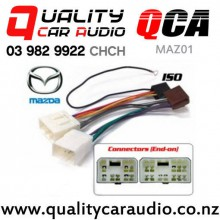 QCA-MAZ01 Mazda to iso Car Stereo Wiring connector year 1990 - 2001 with Easy Finance