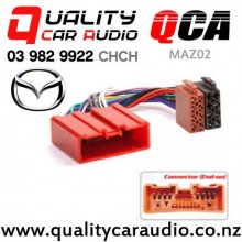 QCA-MAZ02 Mazda to iso Car Stereo Wiring connector year 2001 onward with Easy Finance