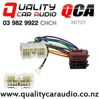 Sensational Qca Mit01 Mitsubishi To Iso Wiring Harness 1994 To 2006 With Wiring 101 Ferenstreekradiomeanderfmnl