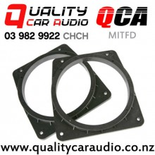 QCA Mitsubishi Front Door Speaker Spacers suit 165mm after market Speakers (Pair) with Easy Finance