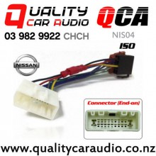QCA-NIS04 Nissan to iso Car Stereo Wiring connector year 2007 onward with Easy Finance