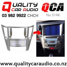 QCA No 314K Fascia Conversion kit for Subaru Legacy / Outback 2010 on with Easy Finance