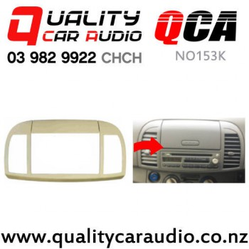 QCA-NO153K Stereo Facial Kit for Nissan March from 2002 to 2010 (K12) with Easy Payments