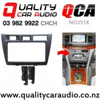 QCA-NO251K Stereo Facial Kit for Toyota MK II JZX110 from 1997 to 2001 with Easy Finance