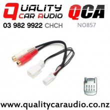 QCA-NO857 Subaru Auxiliary Adapter with RCA Lead with Easy Finance