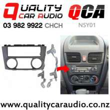 QCA-NPS01 Single Din Stereo Facial Kit for Nissan Pulsar and Sentra 2000 to 2005 with Easy Finance