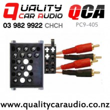 QCA PC9-405 Amplifier Adapter for BMW 3,5,7 & 8 Series 4 Channel RCA with Easy Finance