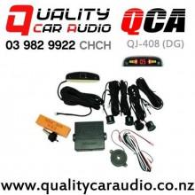 QCA QJ-408 (DG) Car Parking Sensors (Dark Grey) with Easy Finance