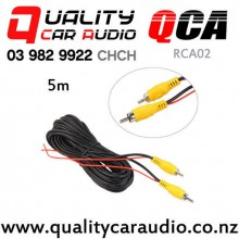 QCA-RCA02 RCA Video Cable for Car Reversing Camera 5m with Easy Finance