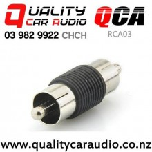 QCA-RCA03 RCA Male to Male Joiner with Easy Finance