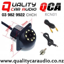 QCA-RCN01 Rear Camera with 8 Leds Night Vision 170 degree Water Proof with Easy Finance