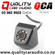 QCA-RCN03 Stainless Rear Camera with 8 Leds Night Vision with Easy Finance