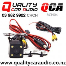 QCA-RCN04 Rear Camera with 4 Leds Night Vision 170 degree Water Proof (RCA Cable incl) with Easy Finance