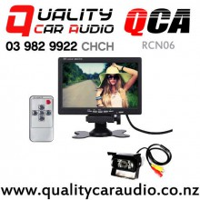 QCA-RCN06 24V Rear Camera with 18 Leds Night Vision Water Proof with Monitor for Truck with Easy Finance