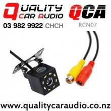 QCA-RCN07 Rear Camera with 8 Leds Night Vision 170 degree Water Proof (5M RCA Cable incl) with Easy Finance