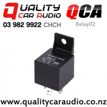QCA-Relay02 12V 30A/40A Automotive 5 Pin Relay with Easy Finance