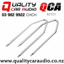 QCA-RET01 U Shape Car Stereo Removal keys (Pair) for Mazda, Ford, Holden and else with Easy Finance