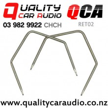 QCA-RET02 U Shape Holden Double Din Stereo Removal Keys (Approx 80mm - Pair)