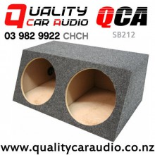 """QCA-SB212 Dual sealed 12"""" Subowoofer box with Easy Finance"""