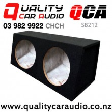 "QCA-SB212 Dual sealed 12"" Subowoofer box with Easy Finance"