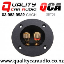 QCA-SBT03 Round Shape Screw Cup Type Speaker Box Terminal with Easy Finance
