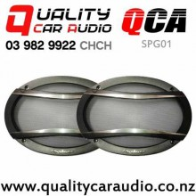 "QCA-SPG01 Pioneer 6x9"" Speaker Grilles (pair) with Easy Finance"
