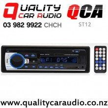 QCA-ST12 Bluetooth USB AUX NZ Tuners 2x Pre Outs Car Stereo with Easy Finance
