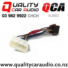QCA-SUB02 Subaru ISO Harness Adapter 2007 on with Easy Finance