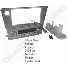 NO303K Subaru Legacy 2003 on Silver Fitting Kit