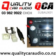 QCA-SUBAUX01 Subaru Aux Input Cable 1.3m (8 pin) with Easy Finance