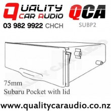 QCA-SUBP2 75mm Subaru Pocket with lid with Easy Finance