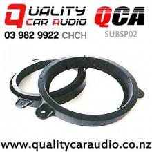 """QCA-SUBSP02 6""""/6.5"""" Subaru OEM Rear Door Plastic Speaker Spacers (Pair) with Easy Finance"""