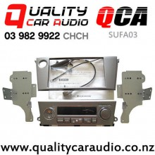 QCA-SUFA03 Double Din Stereo Facial Kit for Subaru Legacy / Outback 2003 - 2008 with Single Zone Aircon with Easy Finance