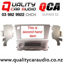 QCA-SUFA03 S2 Double Din Stereo Facial Kit for Subaru Legacy / Outback 2003 - 2008 with Single Zone Aircon (Second Hand) with Easy Finance
