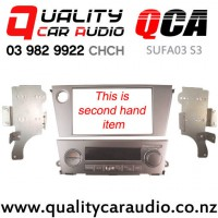 QCA-SUFA03 S3 Double Din Stereo Facial Kit for Subaru Legacy / Outback 2003 - 2008 with Single Zone Aircon (Second Hand) with Easy Finance