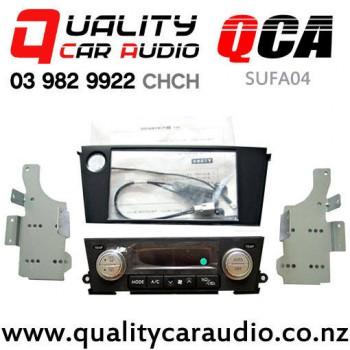 qca sufa04 double din stereo facial kit for subaru legacy. Black Bedroom Furniture Sets. Home Design Ideas