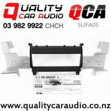 QCA-SUFA05 Single Din Stereo Facial Kit for Subaru Legacy 2004 to 2008 with Easy Finance