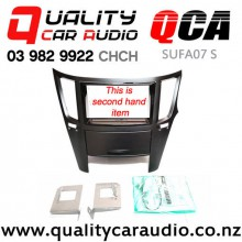 QCA-SUFA07 S Double Din Stereo Facial Kit for Subaru Legacy / Outback From 2010 on (Second Hand) with Easy Finance