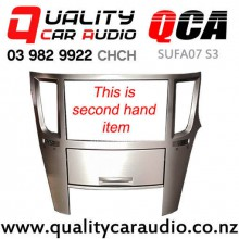 QCA-SUFA07 S3 Double Din Stereo Facial Kit for Subaru Legacy / Outback From 2010 on (Second Hand) with Easy Finance
