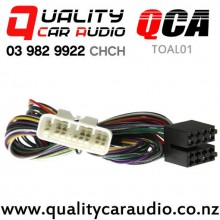 QCA-TOAL01 Lexus Amplifier By-Pass Harness (16 Pins) From 2001-2004 (1m) with Easy Finance
