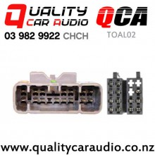 QCA-TOAL02 Toyota Lexus Amplifier By-pass Harness (16 Pins) From 2001 - 2004 with Easy Finance