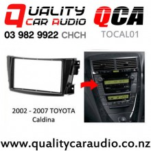 QCA-TOCAL01 Toyota Caldina 2002 - 2007 for Double Din Stereo with Easy Finance